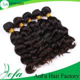 Parrucca di tessitura pura 100% dei capelli umani del Virgin di alta qualità