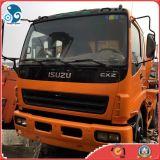 Le Japon a utilisé le camion de mélangeur d'Isuzu avec le système d'interruption de pétrole (8cbm/drum)