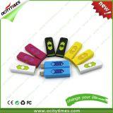 Alumbrador del USB de la alta calidad/alumbrador a prueba de viento/alumbrador del cigarrillo con la impresión de la insignia