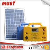 Preço de fábrica DC 20W 30W off Grid Portable Mini Sistema de energia solar