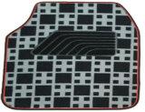 Teste padrão liso da verificação da almofada do pé da esteira do carro do tapete