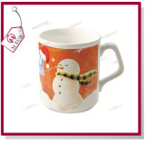 9oz Sublimation Ceramic Coffee Mug mit Square Handle