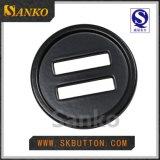 Botón de costura del nuevo del diseño metal respetuoso del medio ambiente del laminado para la camisa