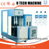 Semi automático del animal doméstico de plástico botella de agua por estirado-soplado máquina de moldeo