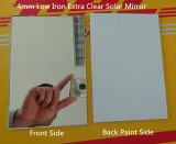 이탈리아 Fenzi Paint를 가진 2mm-6mm Vacuum Mirror Glass Double Coated