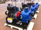 각자 프라이밍 쓰레기 하수 오물 디젤 엔진 수도 펌프