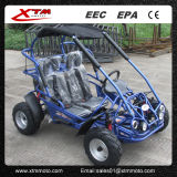 200cc 틴에이저 아이 Offroad 인종 가솔린 리버스 6.5HP는 Kart 간다