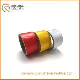 Material que cubre reflexivo del vinilo de la muestra de seguridad del camino