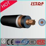 кабель одиночного сердечника средств кабеля напряжения тока 3.6/6kv/Multicore силы изоляции XLPE медный