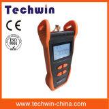 Medidor de potência Tw3208e de Techwin do equipamento de teste da fibra óptica