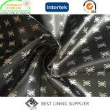 Fabricante de China de la tela de la guarnición del telar jacquar del satén del juego de 100 hombres de Poliester