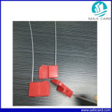 Color rosso ABS FM1108 Metal Seal Tag per Transportation