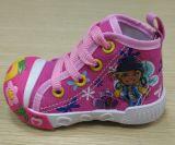 De recentste Mooie Schoenen van de Zuigeling van de Schoenen van het Canvas van de Baby van de Schoenen van de Injectie (ff516-2)