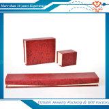 Подгонянная коробка подарка ювелирных изделий роскошного картона упаковывая бумажная