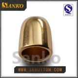 아기 피복을%s 높은 Polished 금 의복 부속품 귀여운 마개