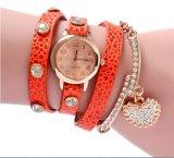 Yxl-810 manier Dame Watch Christmas Gift Watch met de Stenen van de Rechthoek op het Horloge van de Manier van de Vatting