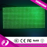 P10mm solo color verde Módulo de pantalla LED en Venta