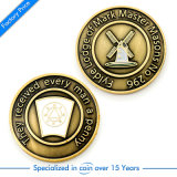 China New Design Customized Antique Style Pressure Stamping Challenge Coin in Highquality