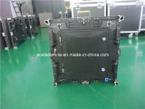 HD a presión el panel de visualización al aire libre de LED de la etapa del panel de aluminio SMD P6 de la fundición