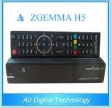 高いCPU HDTVのサテライトレシーバZgemma H5 Bcm73625はチューナーコアLinux Enigma2 Hevc/H. 265 DVB-S2+T2/Cのハイブリッド二倍になる