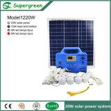 Gerador solar portátil disponível do sistema de energia de preço de fábrica mini