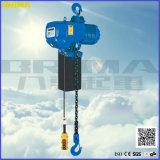 tipo caliente alzamiento de cadena eléctrico de 1000kg Brima Japón con el gancho de leva