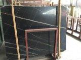 Losa de mármol de Noir Aziza para la pared interior