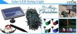 Het Licht van de verschillende Zonne LEIDENE van Kleuren Fee van Kerstmis