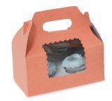 Boîtes de empaquetage de boulangerie de papier imprimées par coutume