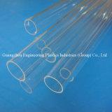 Guangzhou concevant le tube en plastique transparent acrylique en plastique de l'usine PMMA