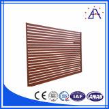 Stecca di legno del grano della lega di alluminio per la barriera di sicurezza