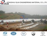 China 10 anos de tubulação de aço galvanizada corrugada venda por atacado da fábrica