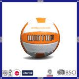 Volleyball bon marché d'unité centrale de cuir de fournisseur de la Chine