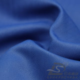 Agua y de la ropa de deportes tela tejida chaqueta al aire libre Viento-Resistente 100% de la pongis del poliester del telar jacquar del zigzag abajo (E025FD)