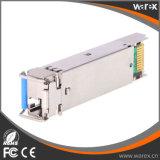 Transceptor superior de 100Base-BX 1310nm Tx/1550nm Rx 80km SFP BIDI