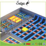 O multi Trampoline olímpico luxuoso interno o mais atrasado do tamanho para o divertimento do equipamento