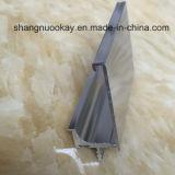 Profilo di alluminio della maniglia per l'armadietto, portello dell'armadio da cucina
