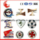 Emblema bordado das forças armadas do emblema da fábrica mão feita sob encomenda