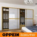 2016 de Moderne Witte Acryl Glijdende Garderobe van het Contrast van de Kleur Oppein (YG16-A01)