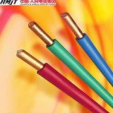 fios elétricos isolados PVC do fio da energia 450/750V