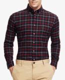 Рубашки отдыха Длинн-Втулки фланели Top-Quality людей проверенные весной вскользь