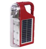 휴대용 태양 LED 재충전용 야영 손전등 토치