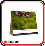 Calendario decorativo con papel reciclable 2017