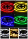 SMD 3528 단 하나 PCB 높은 광도가 단 하나 색깔 LED 지구 빛에 의하여 IP20 12V LED 점화한다