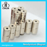 Magneti permanenti sinterizzati cilindro nichelato di NdFeB