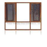 La ventana de aluminio del perfil tiene mejor funcionamiento insonoro (FT-W 135)