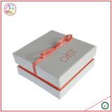 Rectángulo de joyería de papel encantador de la venta caliente