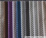 눈송이 패턴 2색조 양이온은 솔질한 소파 직물을 염색했다