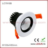 Hole 75mm 6W COB Recessed Ceiling Downlight LC7906b schneiden