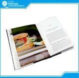 Impresión profesional del libro del cocinero del Hardcover
